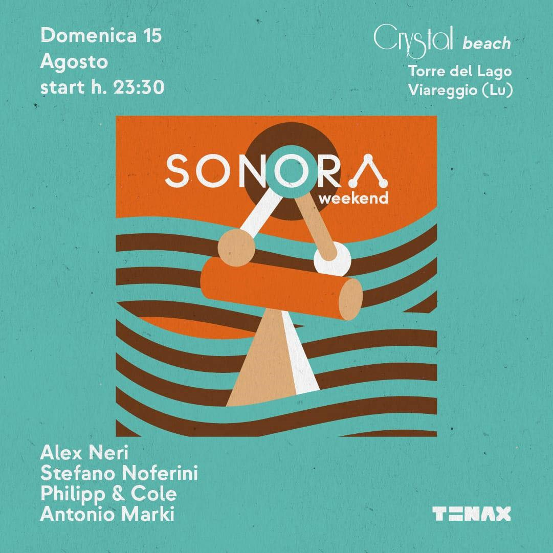 Sonora - Powered by Tenax Club - Cancelled - Flyer back