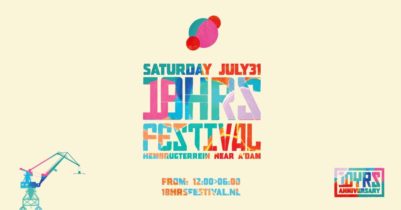 18hrs Festival 2021 - Flyer front