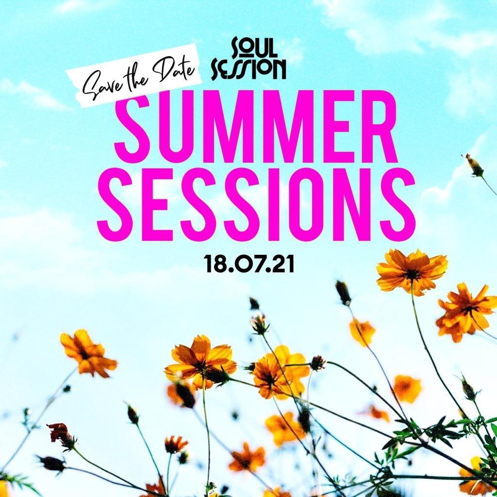 Soul Session presents - Summer Session - Flyer front