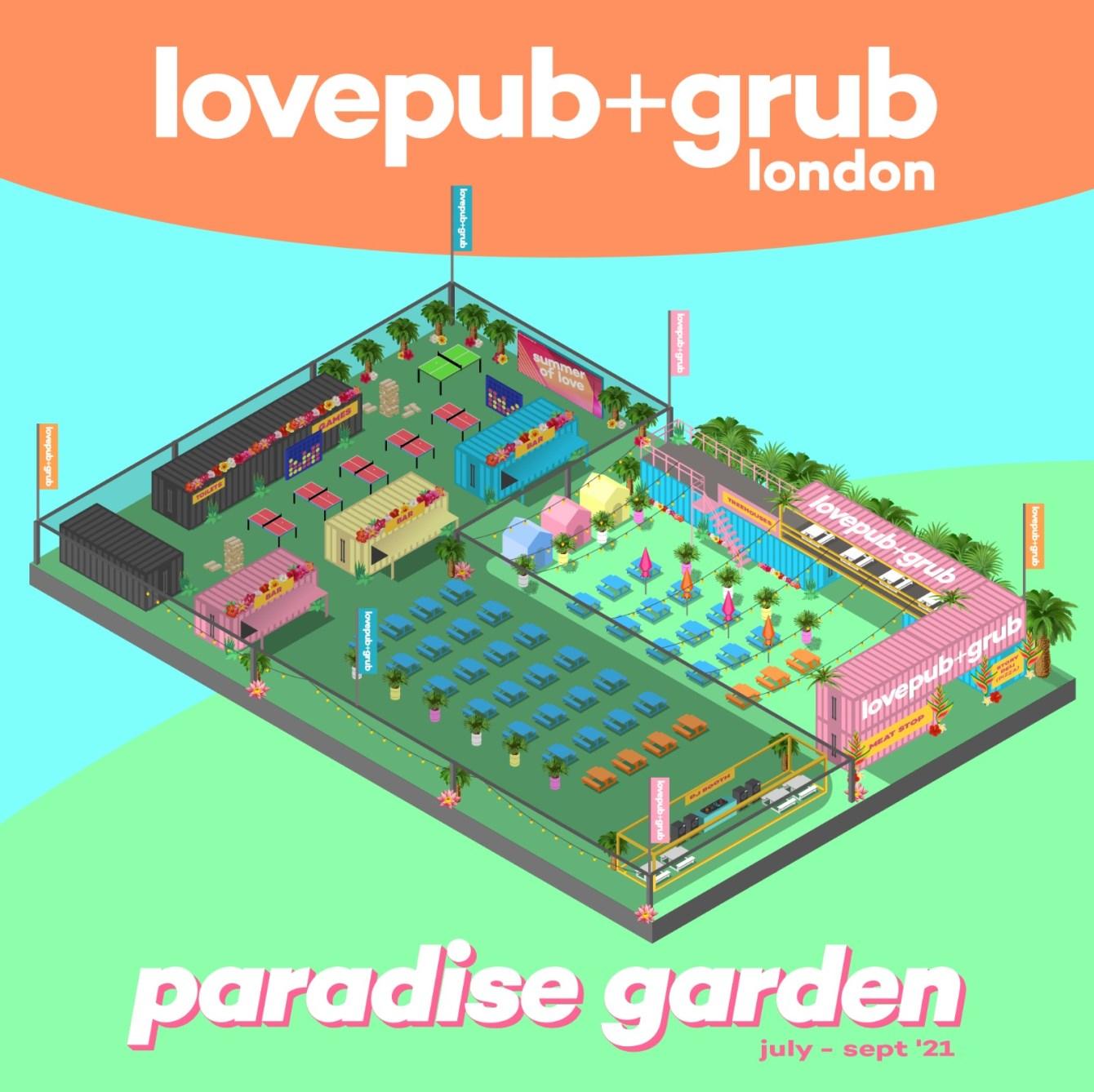 Love Pub & Grub - Sun 25 July - Flyer back