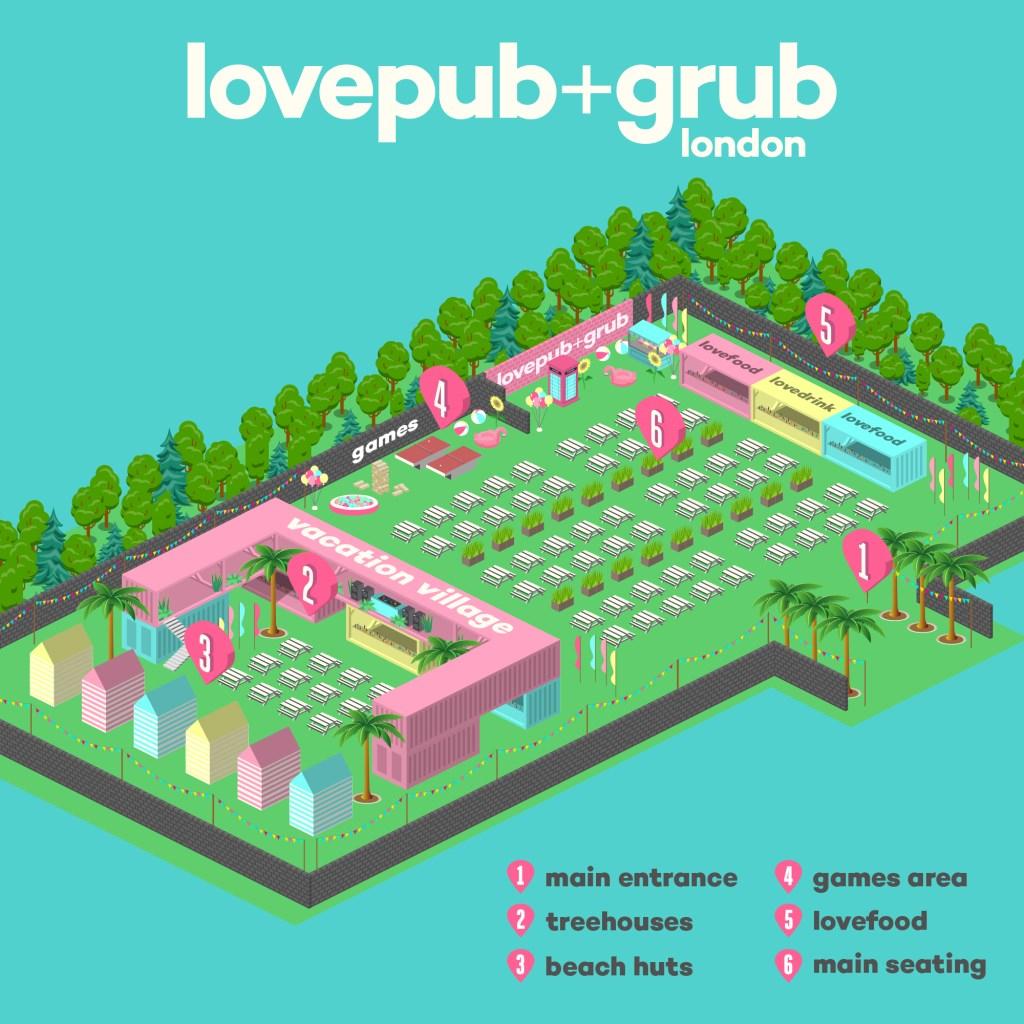 Love Pub & Grub - Friday 30 July - Flyer back