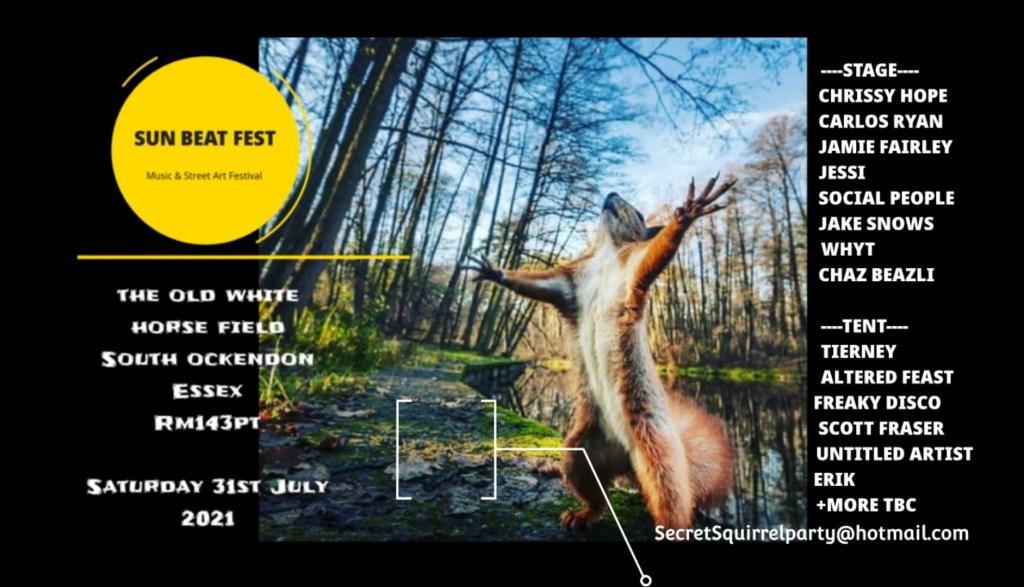 Sun Beat Fest - Flyer front