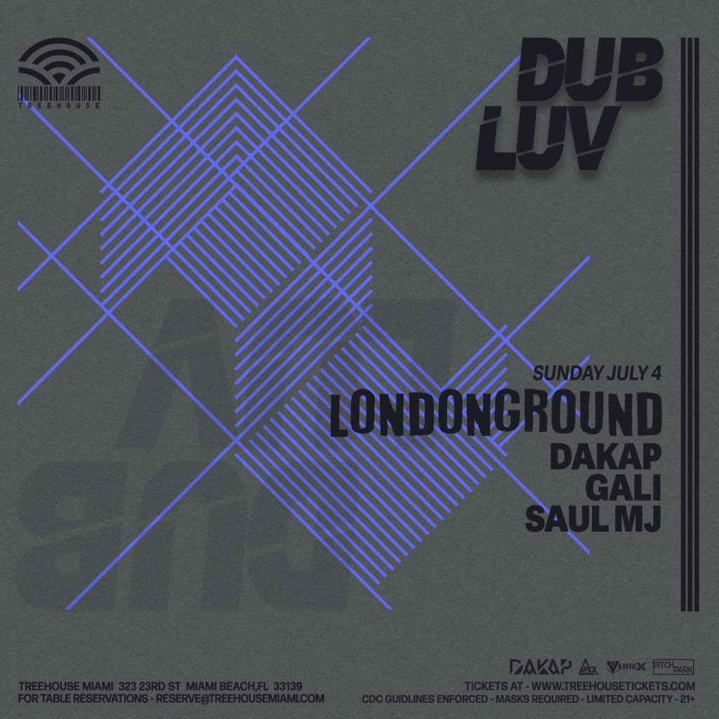 Dakap presents Dub Luv with LondonGround - Flyer front