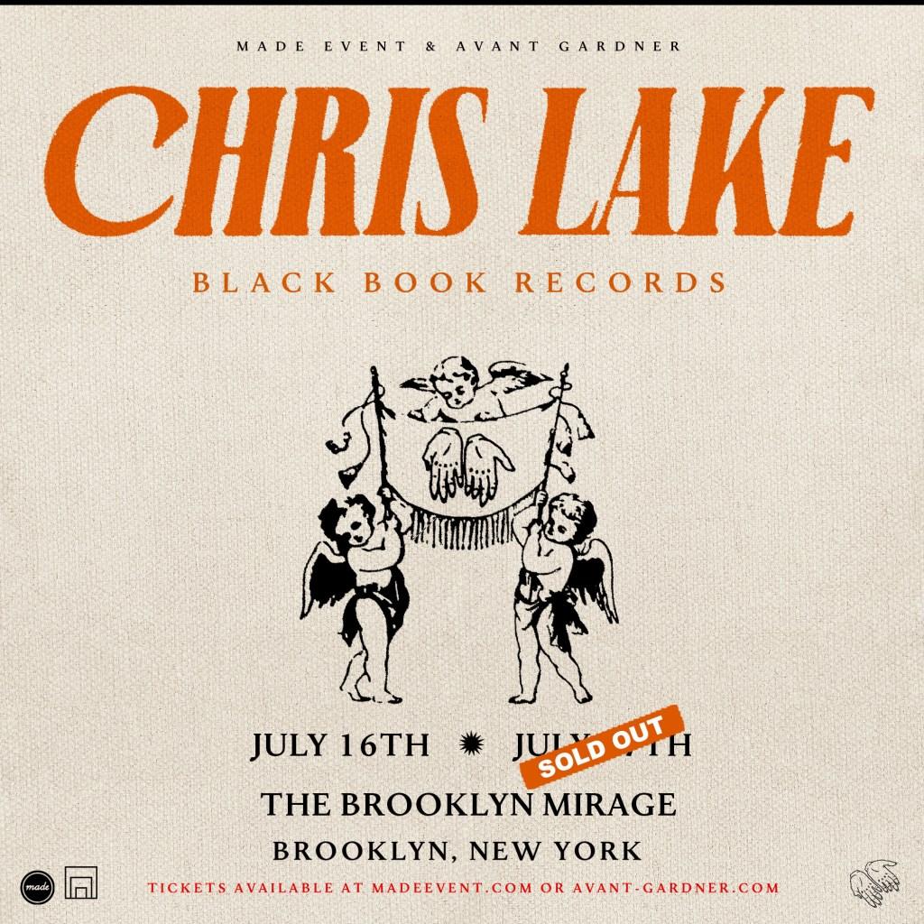 Chris Lake - Flyer front