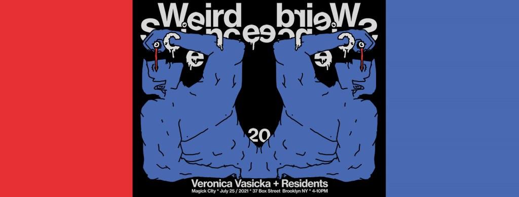 Weird Science n.20 with Veronica Vasicka - Flyer front