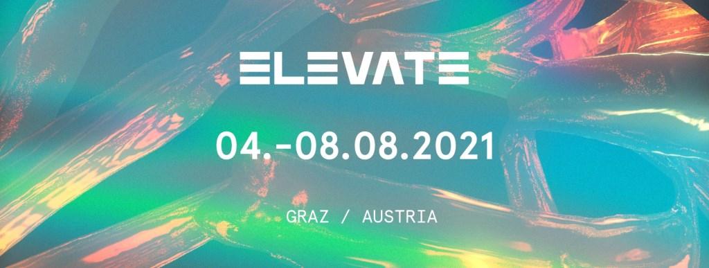 Elevate Festival 2021 - Flyer front