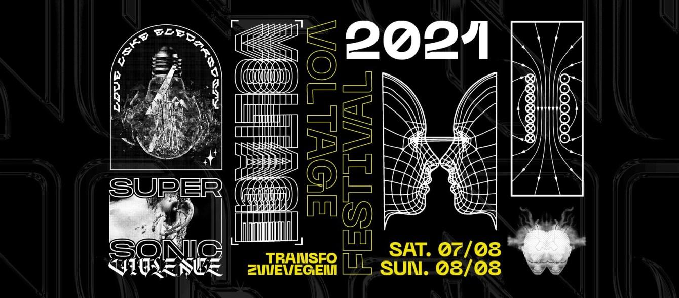 VOLTAGE Festival 2021 - Flyer front