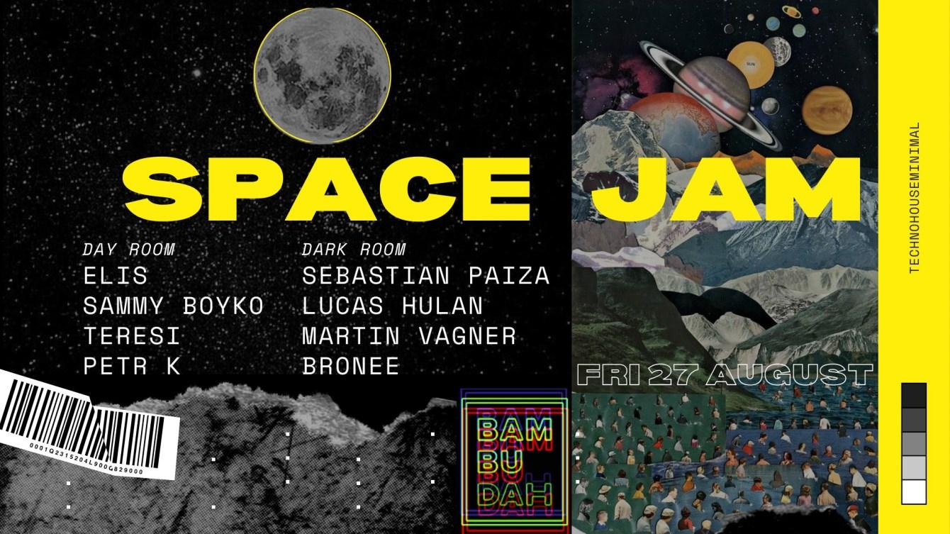 SPACE JAM [Floating Rave] - Flyer front