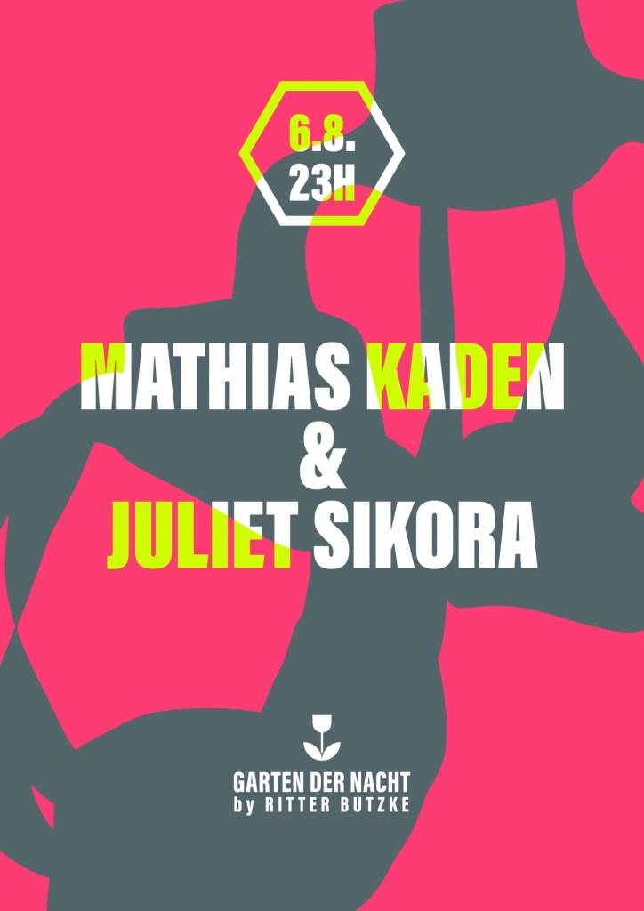 Mathias Kaden - Flyer front
