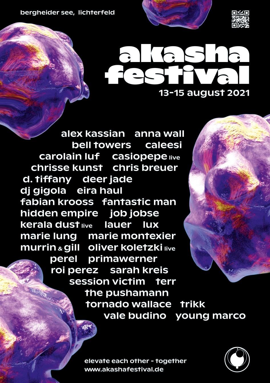 Akasha Festival - Flyer front