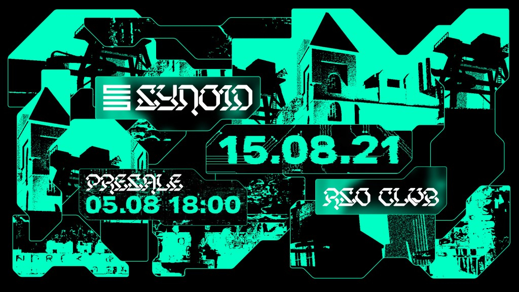 SYNOID - Flyer front