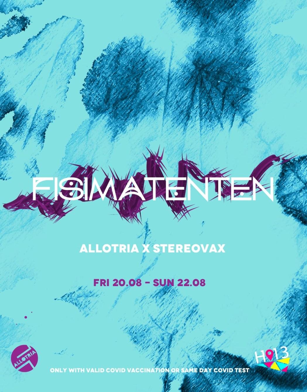 Fisimatenten Festival [Day 1] - Flyer front
