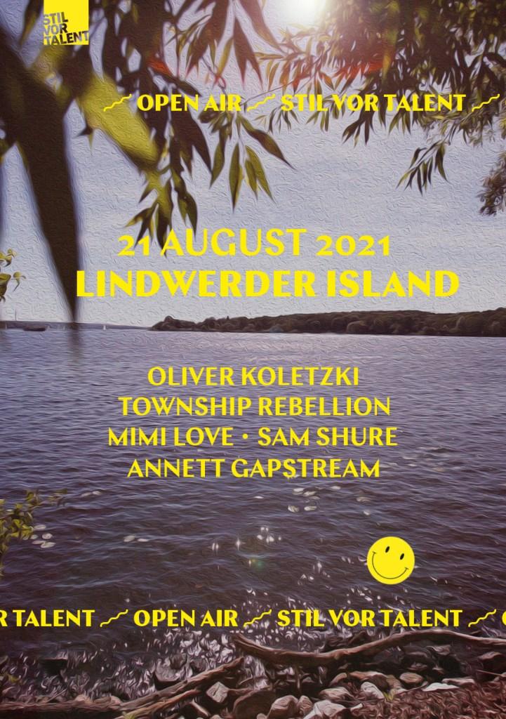 Stil Vor Talent Island Open Air - Berlin - Flyer front