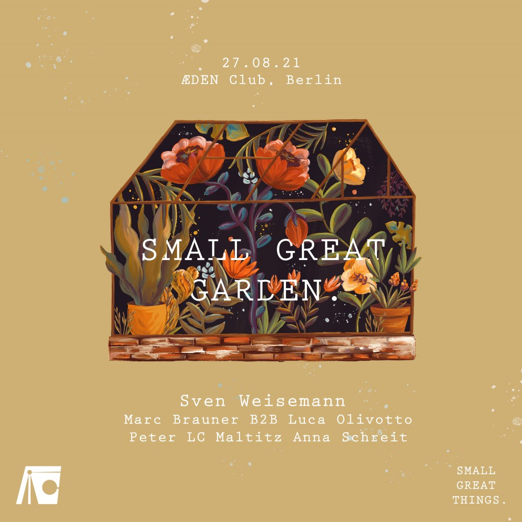 Small Great Garden (Small Great Things.) - Flyer front