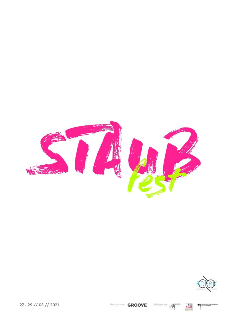 Staub Fest - Flyer back