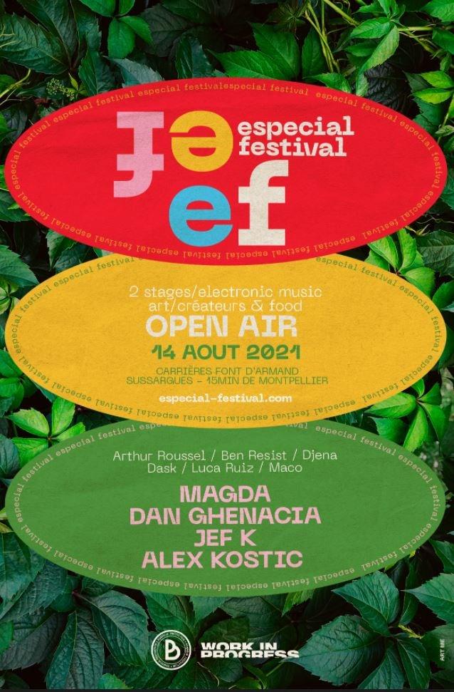 Especial Festival 2021 - Flyer front