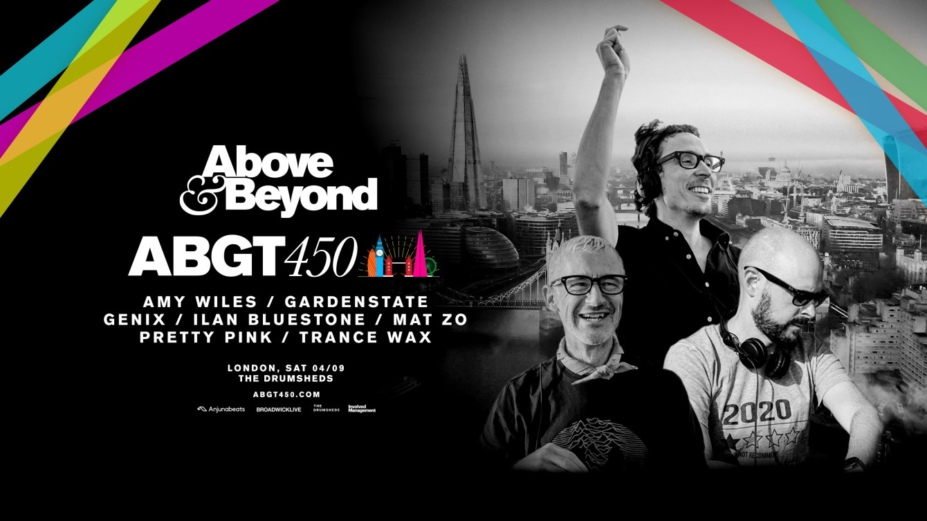 Above & Beyond: Group Therapy 450 - Flyer front