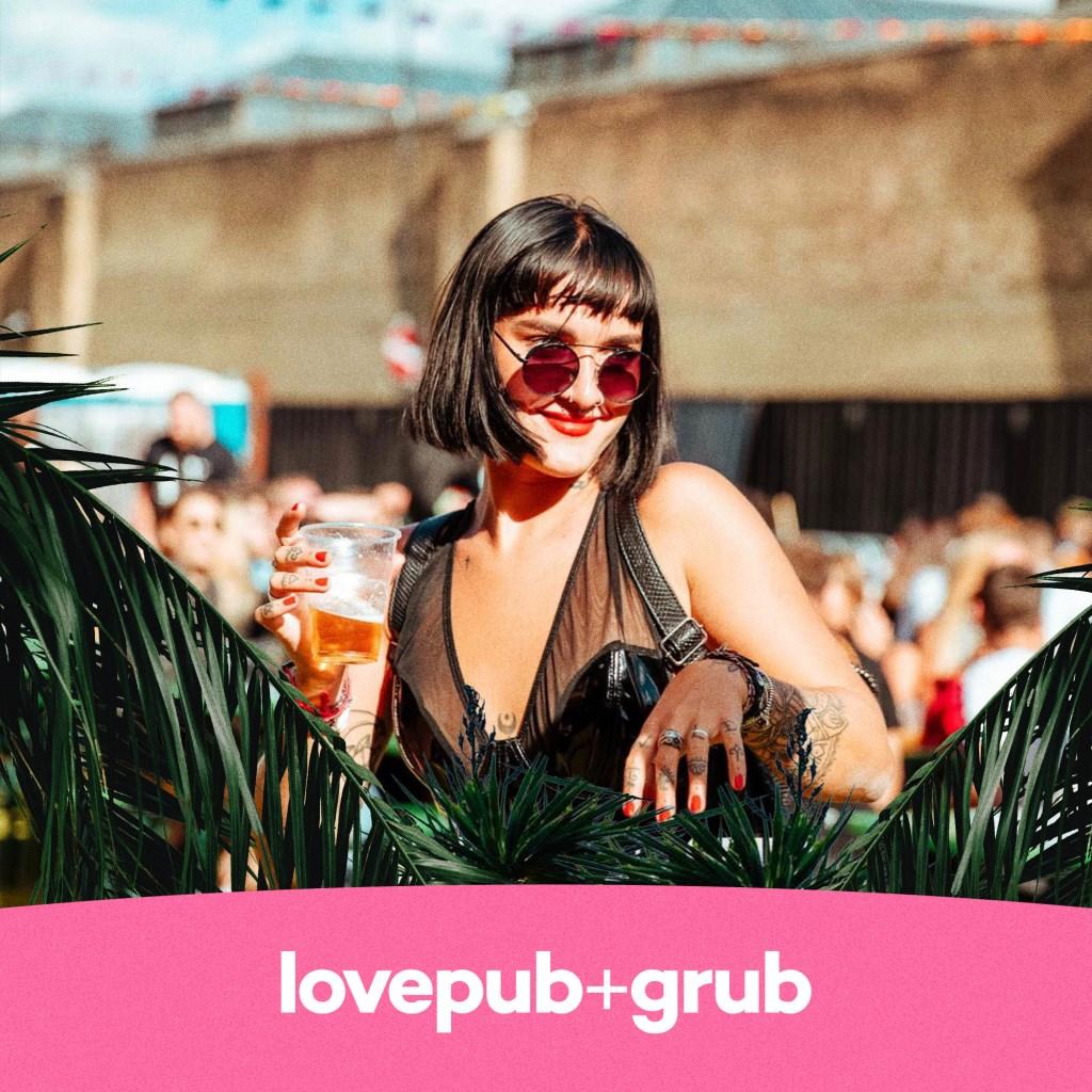 Love Pub & Grub - Fri 6 August - Flyer front