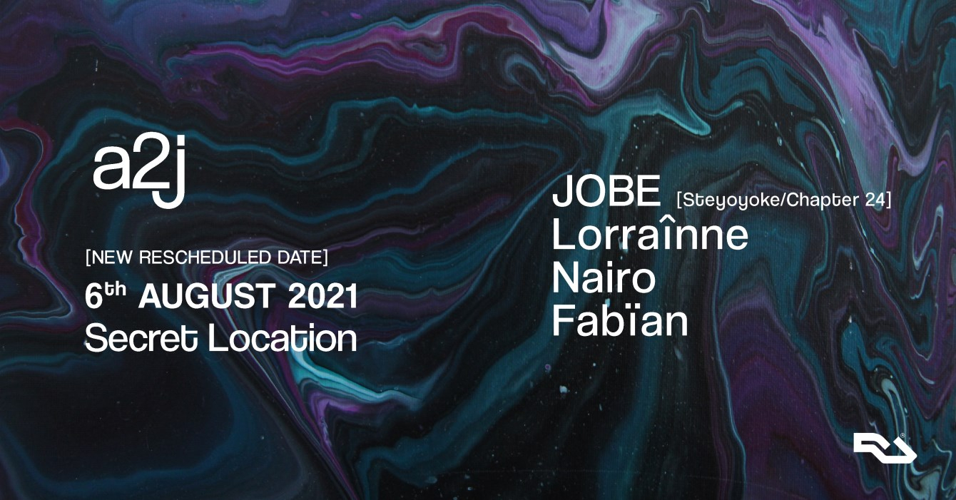a2j with JOBE & Residents - Flyer front