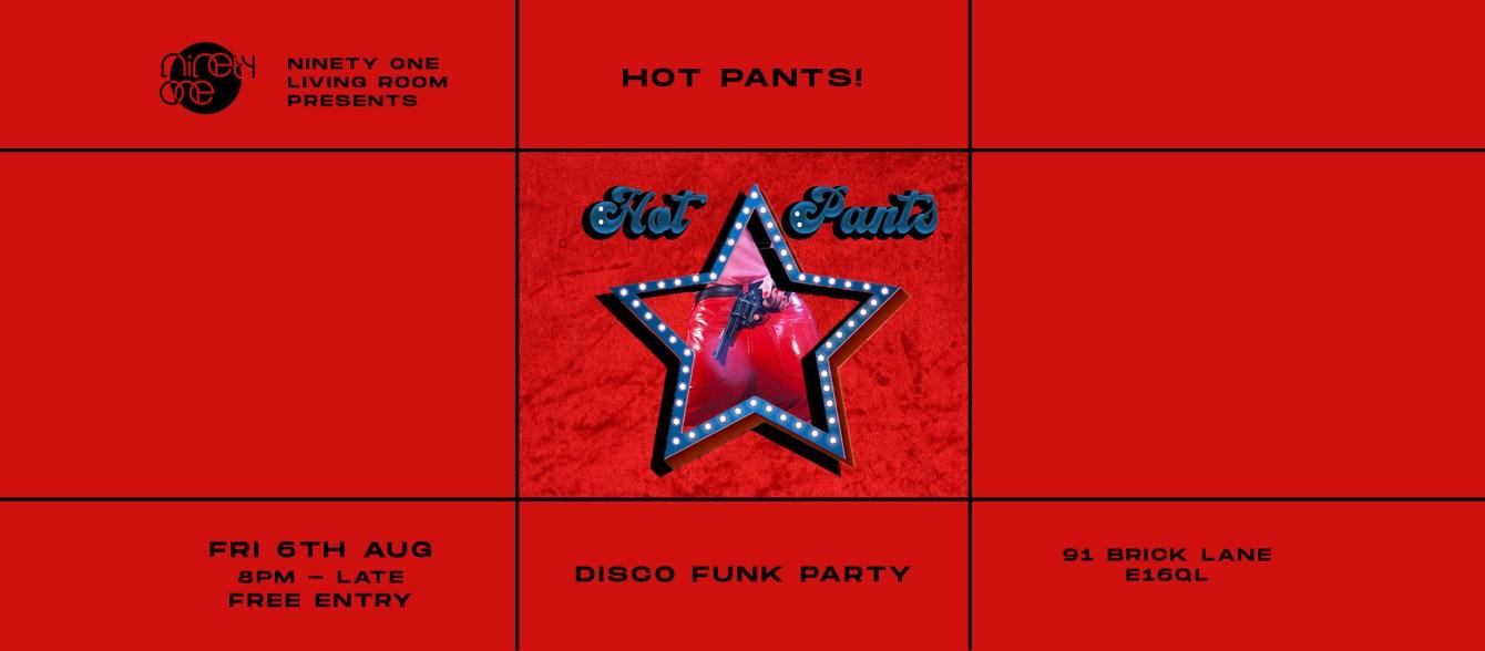 Hot Pants - Flyer front