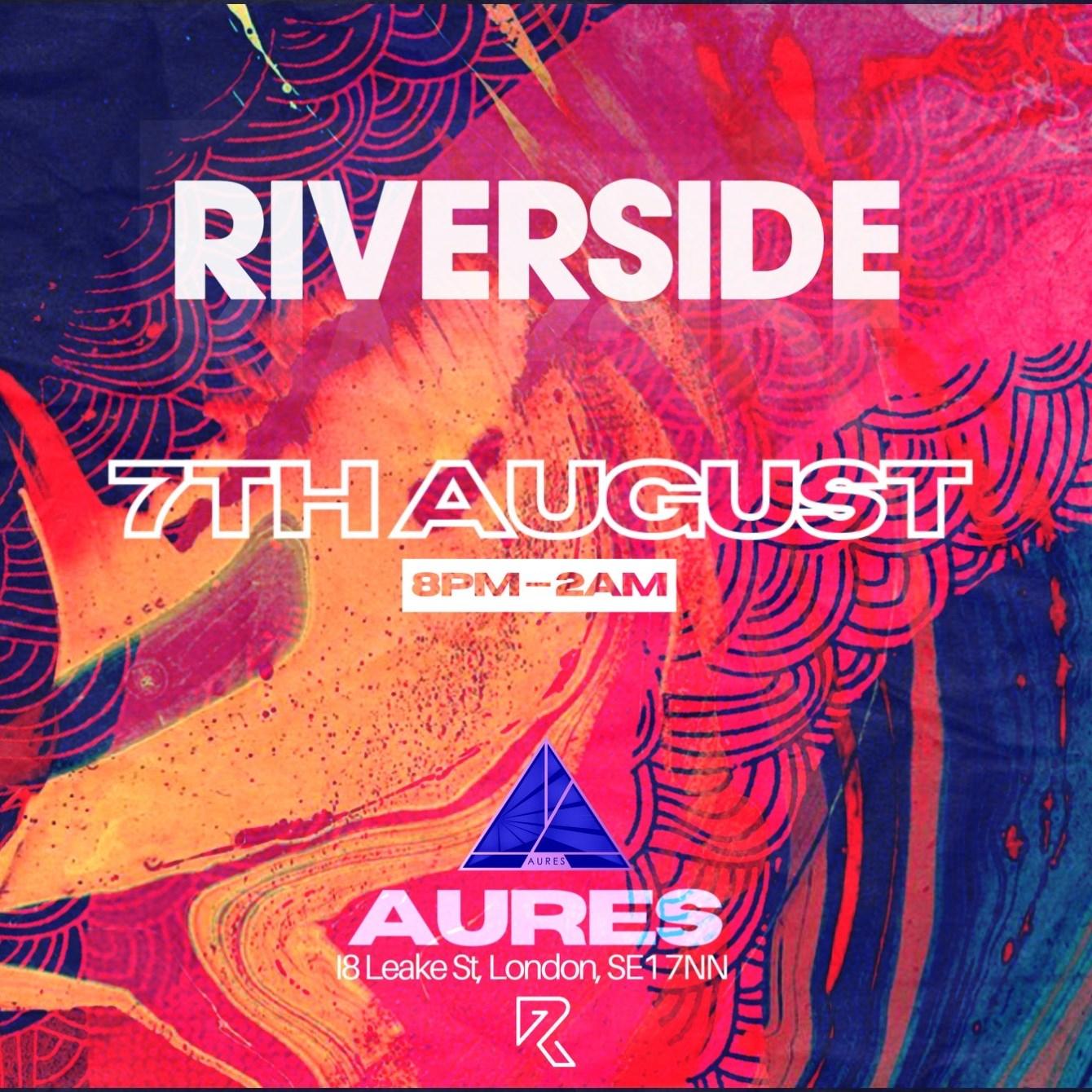 Riverside Aures London - Flyer front