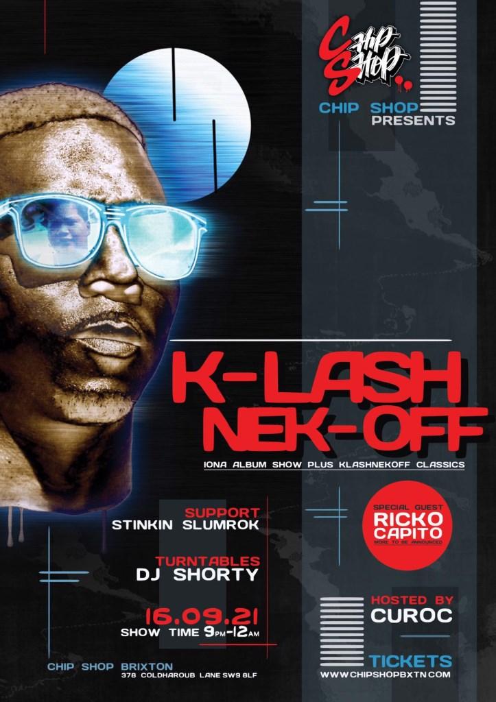 Klashnekoff - Flyer front