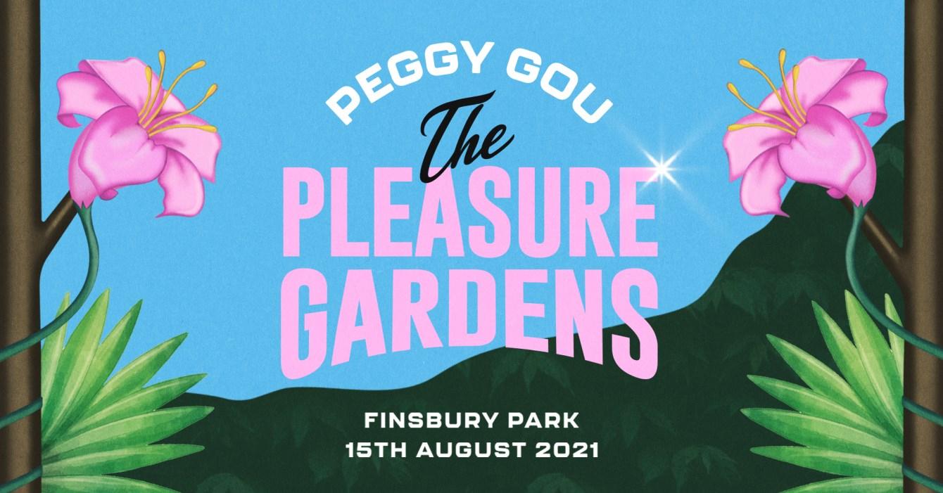 Peggy Gou presents The Pleasure Gardens - Flyer front