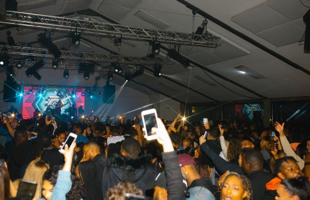 Afrobeats x Bashment Rave @Village Underground Shoreditch: We Outside Party - Flyer back