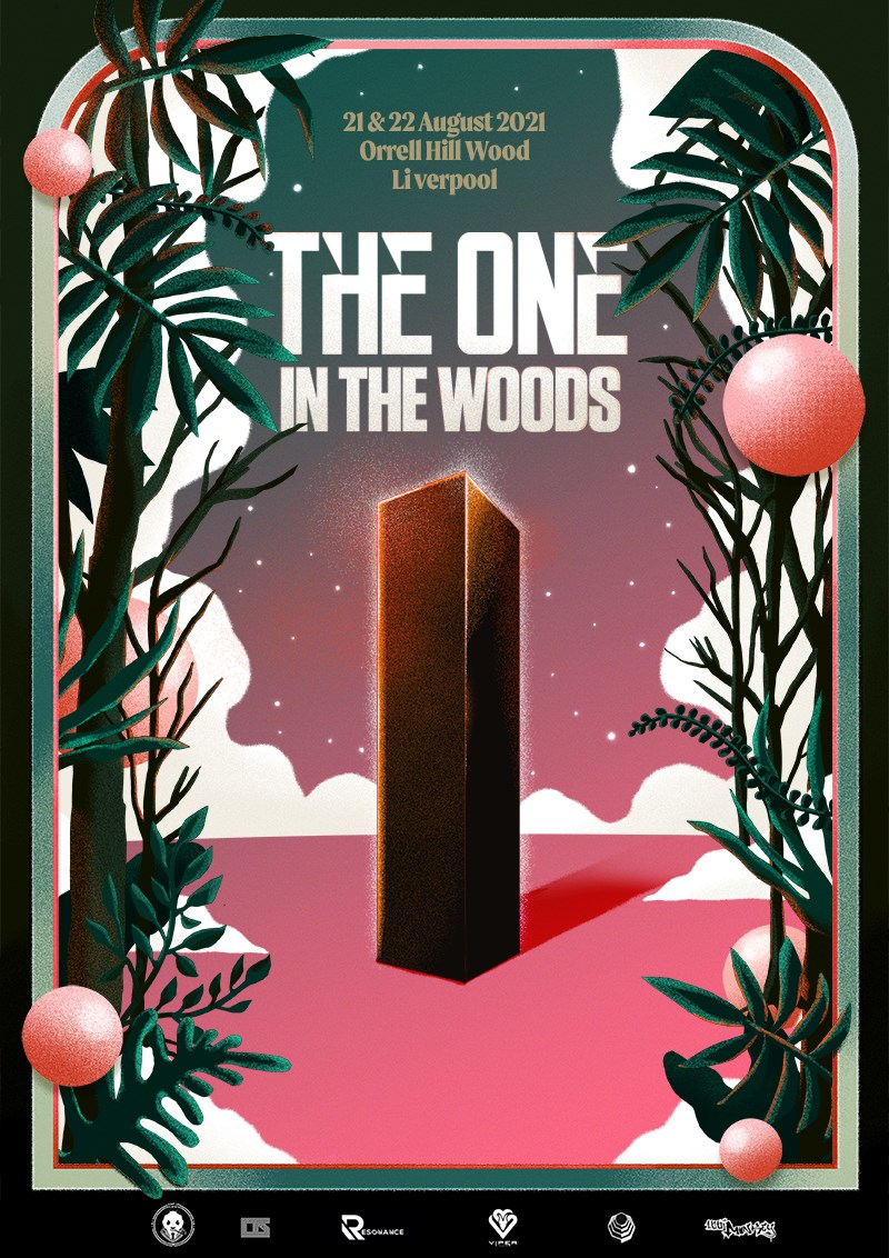 The One In The Woods - Flyer front
