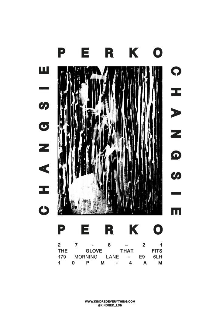 KINDRED_006: Perko + Changsie - Flyer back