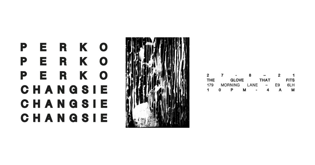 KINDRED_006: Perko + Changsie - Flyer front