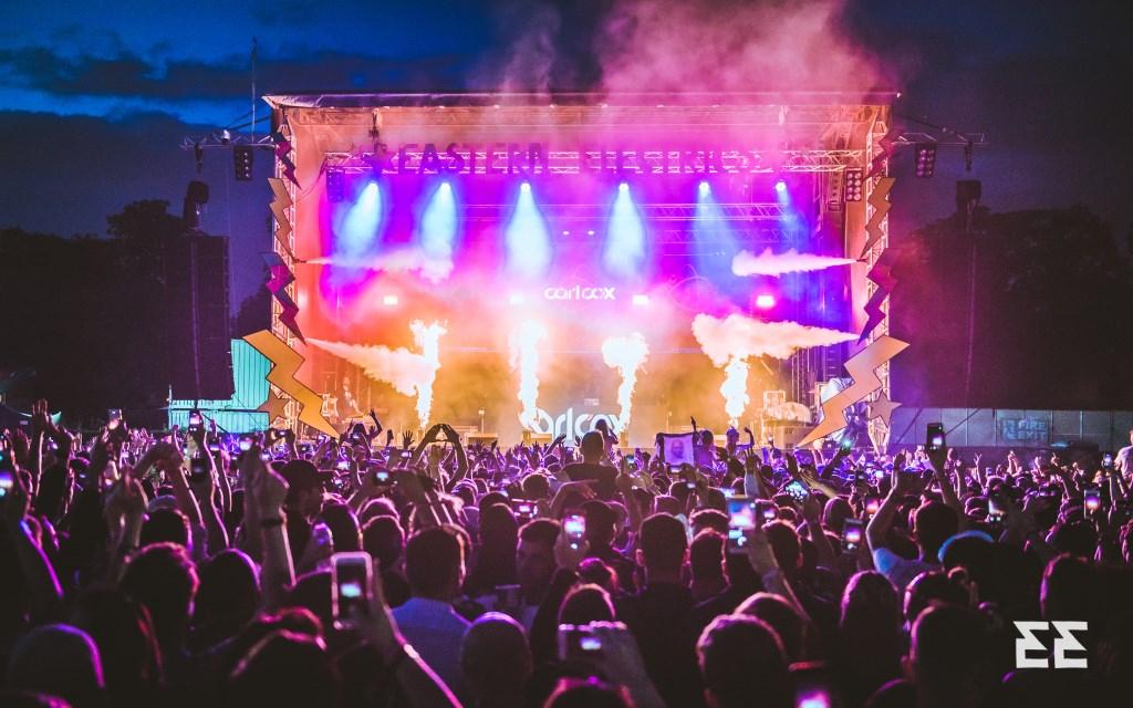Eastern Electrics Festival 2021 - Flyer back