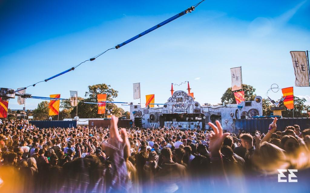 Eastern Electrics Festival 2021 - Flyer front