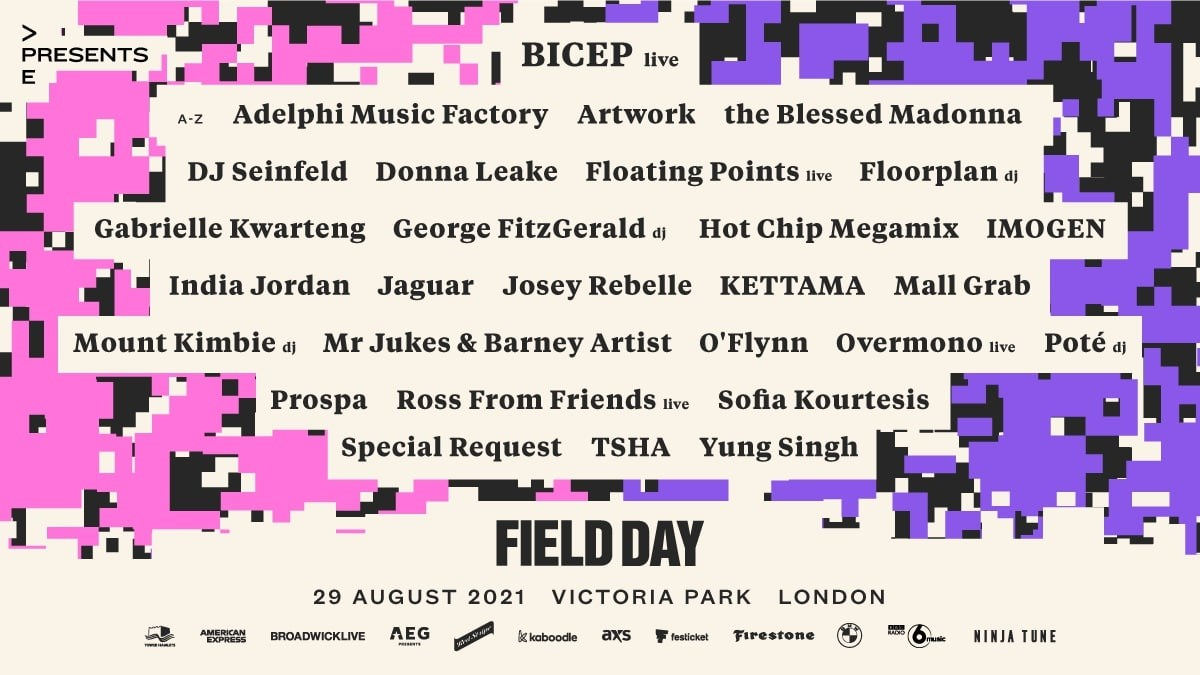 Field Day - Flyer front