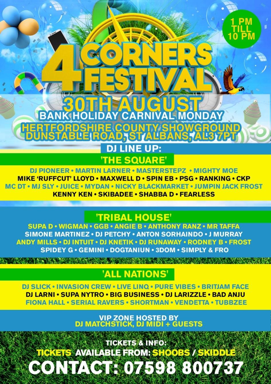 4corners Festival - Flyer back