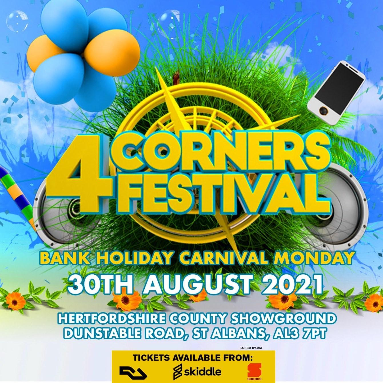 4corners Festival - Flyer front