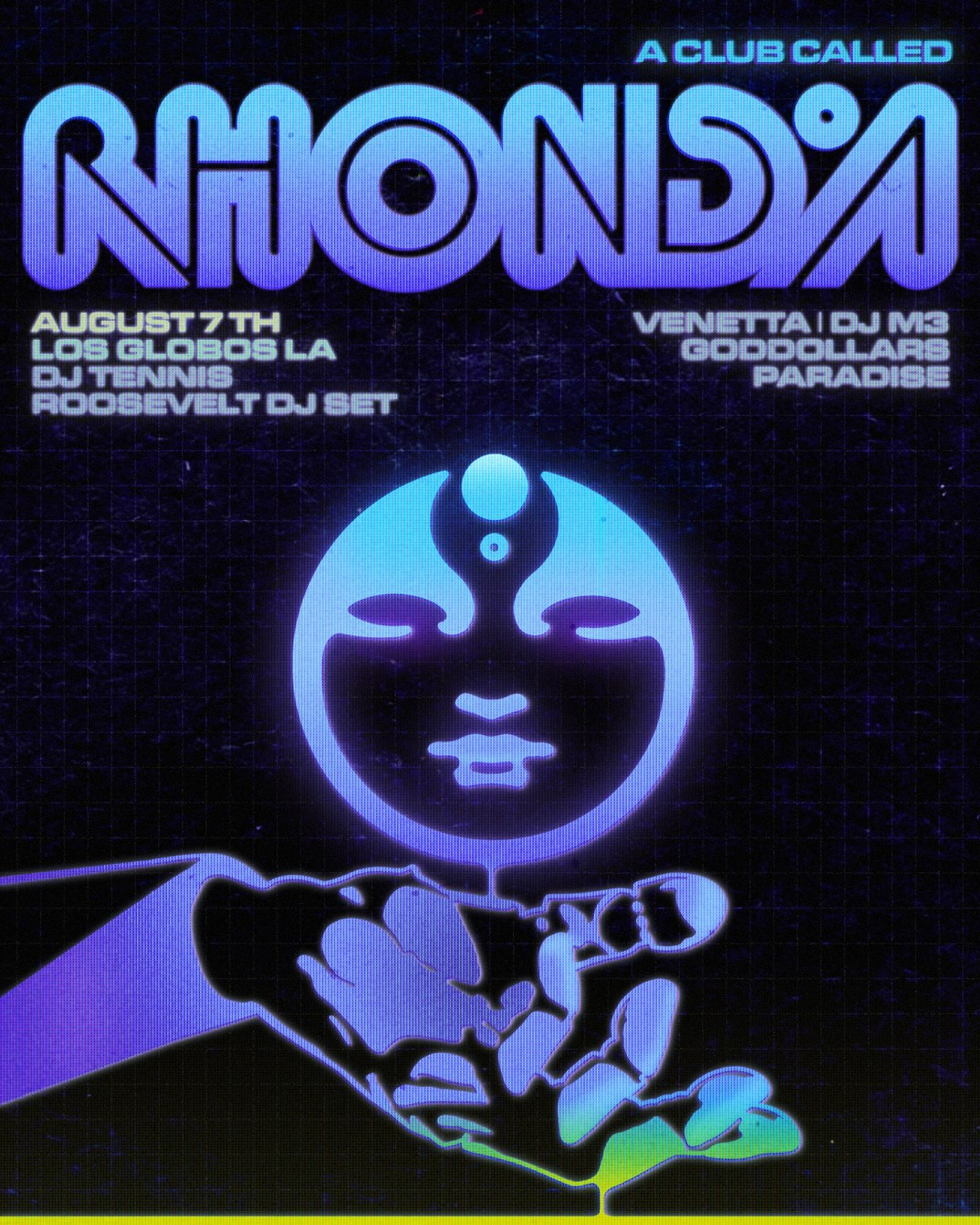 A Club Called Rhonda: Silver Lake (Sold Out) - Flyer front