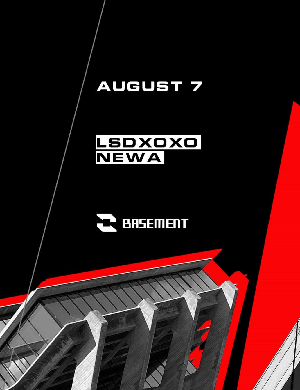Lsdxoxo / Newa - Flyer front
