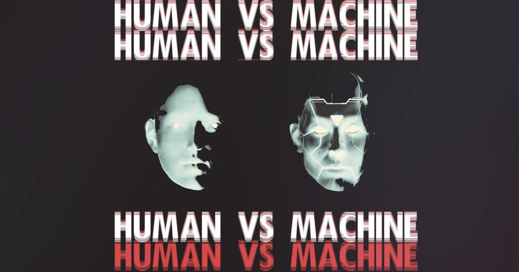 Human vs Machine with Scan 7 - Flyer front