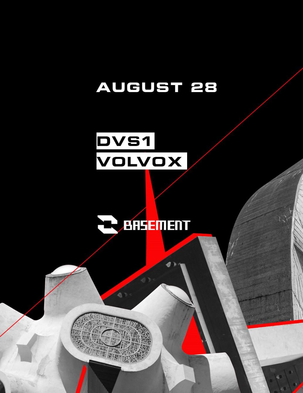 Dvs1 / Volvox - Flyer front