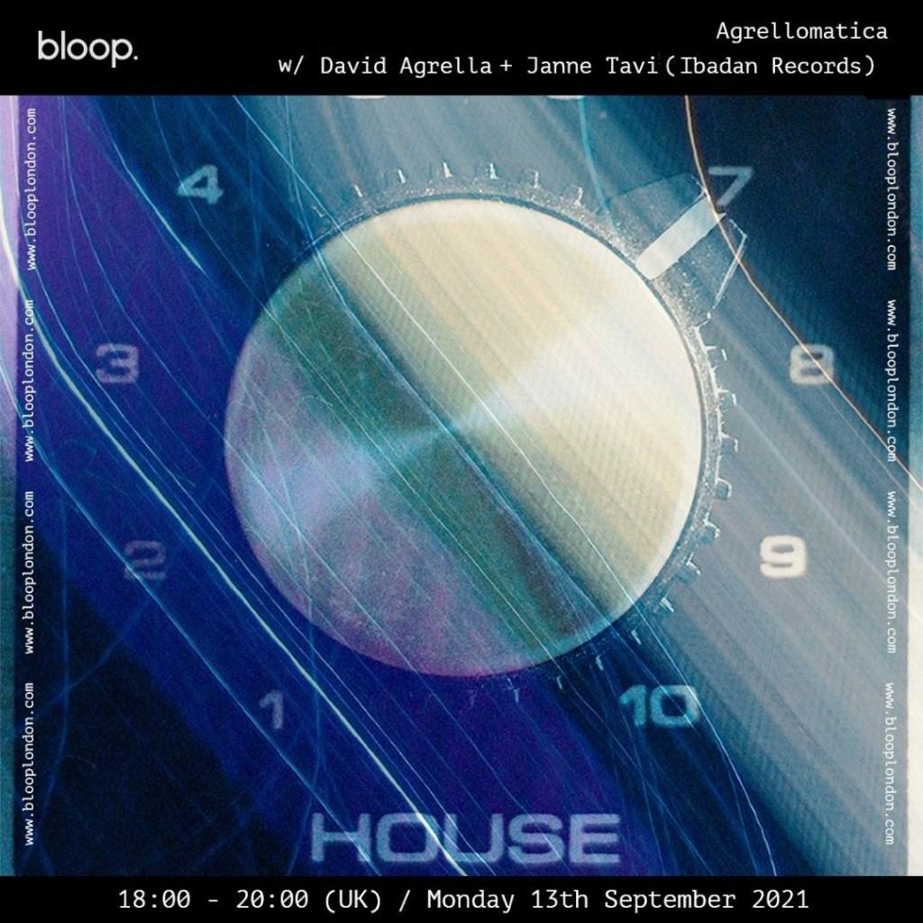 Bloop London Invites Janne Tavi - Flyer front