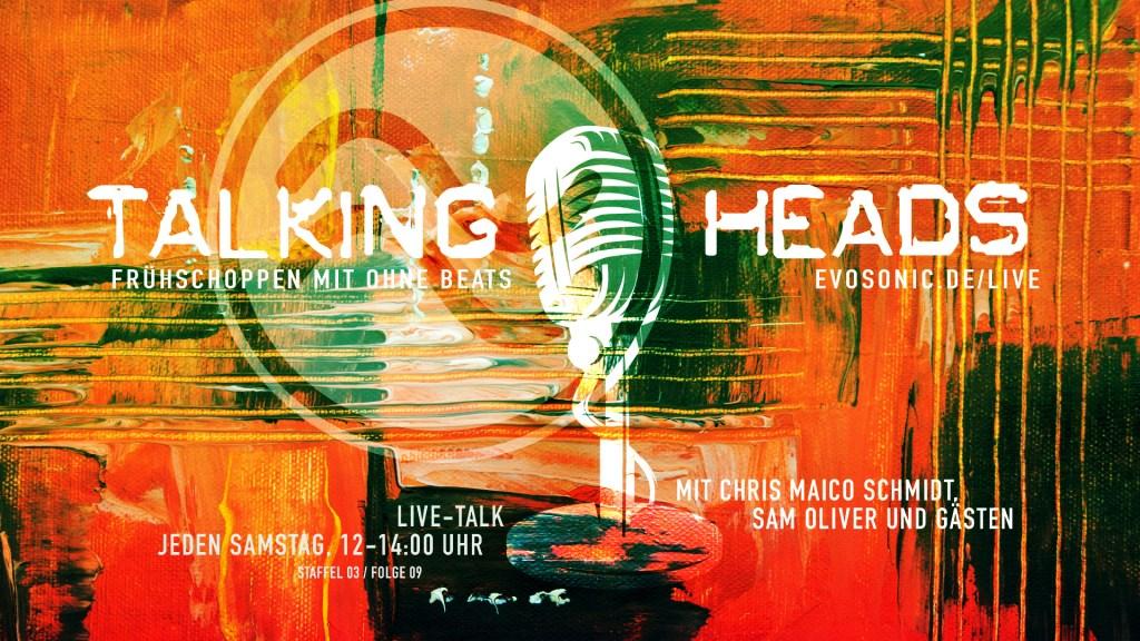 Talking Heads - Flyer front