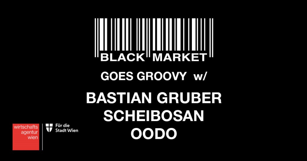BM Goes Groovy with Bastian Gruber, Scheibosan & Oodo - Flyer front