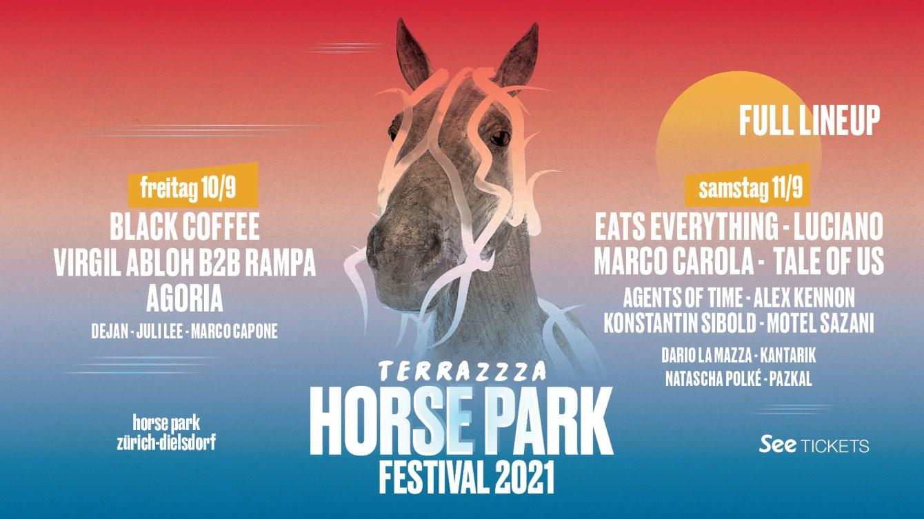 Terrazzza - Horse Park Festival 2021 - Flyer front