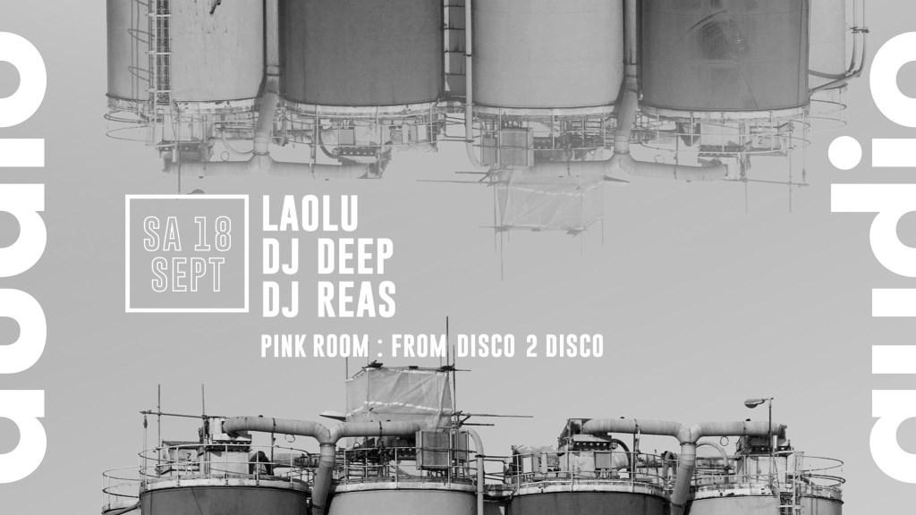Laolu - Dj Deep - Dj Reas - From Disco 2 Disco - Flyer front