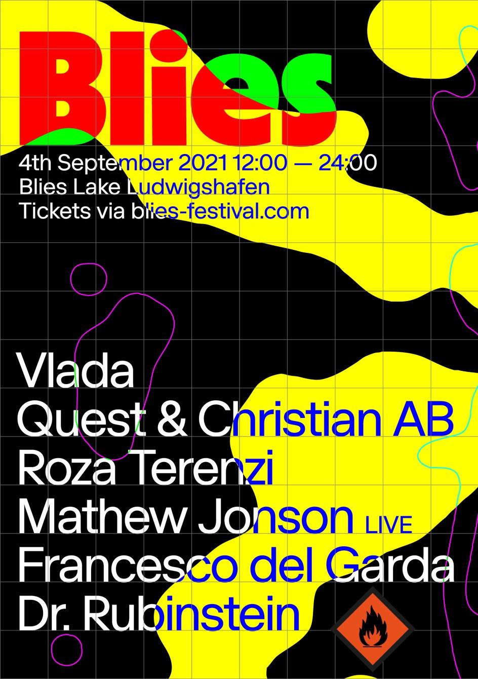 Blies Festival - Flyer front