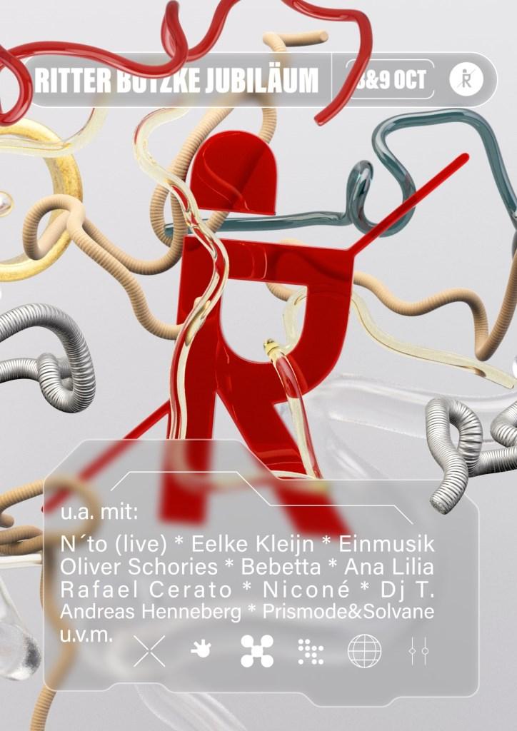 |Samstag| Ritter Butzke Jubiläum - Flyer front