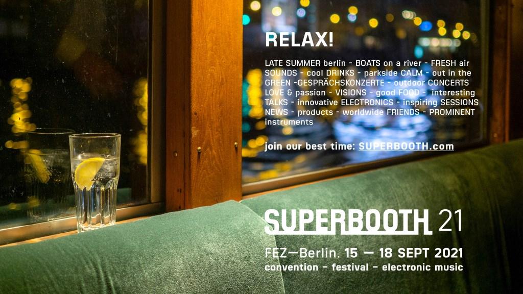 Superbooth21 - Flyer front