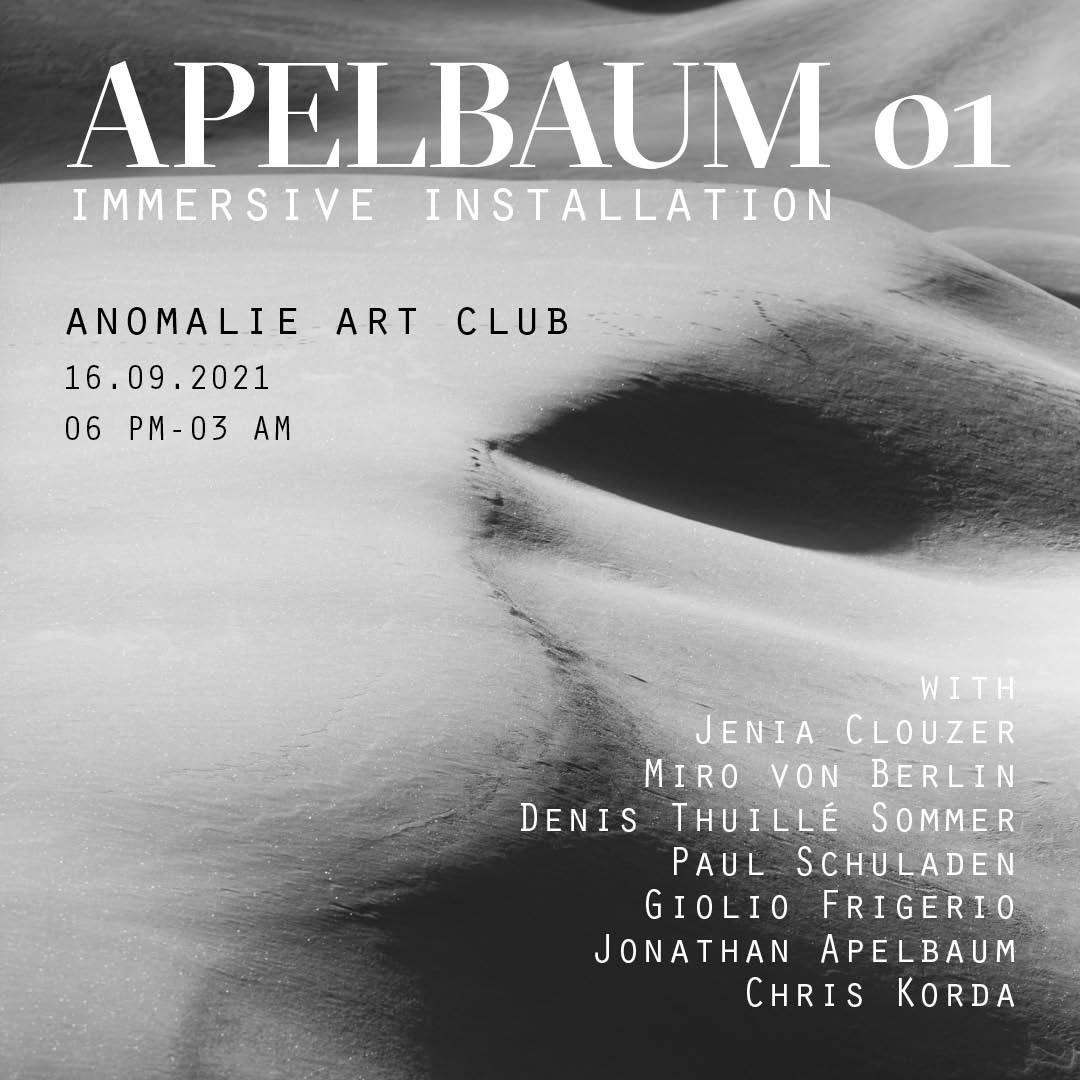 Apelbaum01 - Flyer front