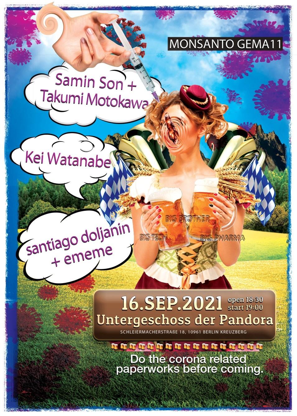 Monsanto Gema #11 - Flyer front